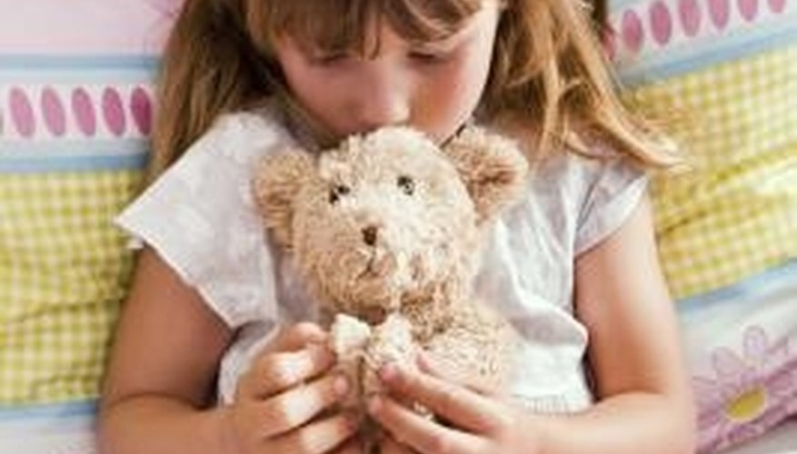 Donate your old stuffed toys to a child who will love them.