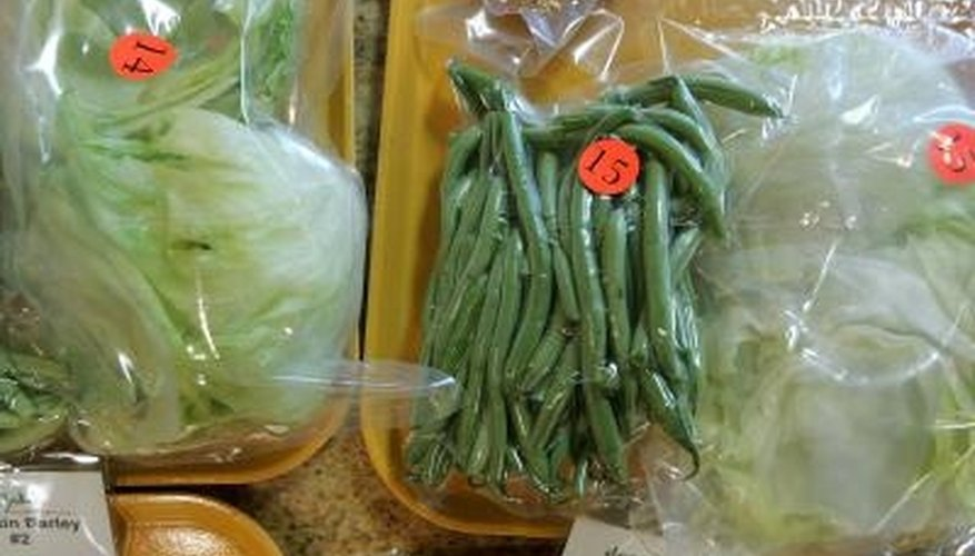 Vacuum-sealed bags eliminate the air that contributes to food spoilage.