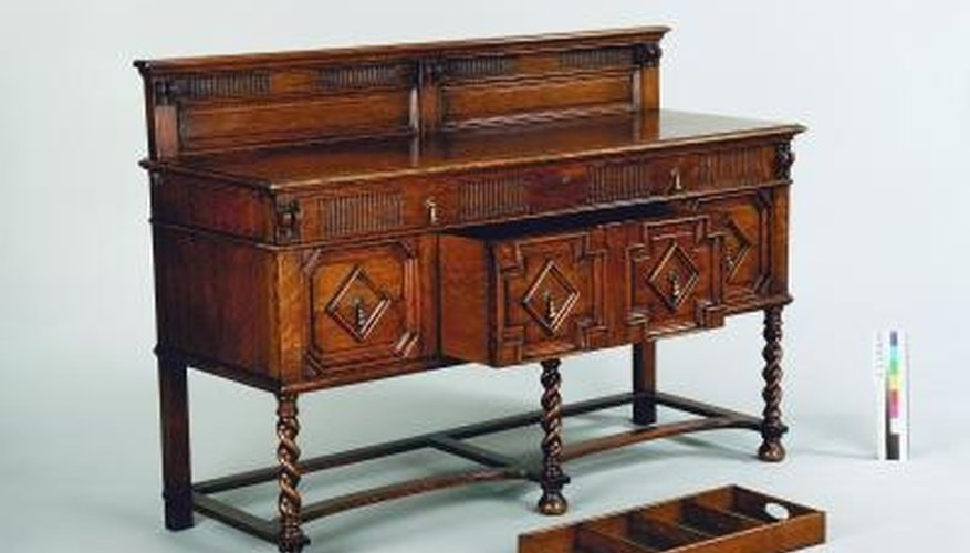 Sideboards are often called buffet tables today.
