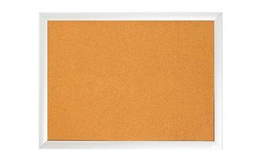 Transform an ordinary bulletin board into a piece of art.