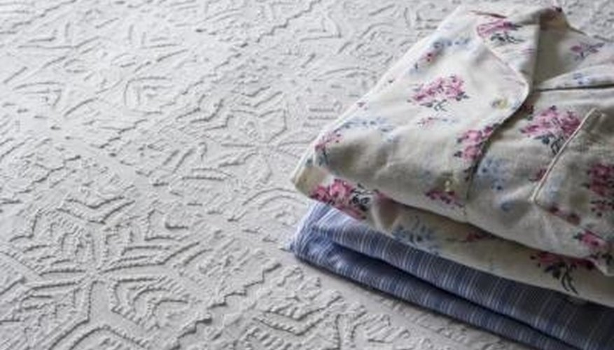 When folding pajamas, consider folding them into halves or thirds.