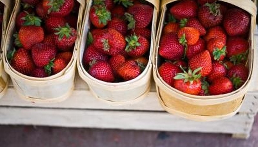 Strawberries are a high-value crop.