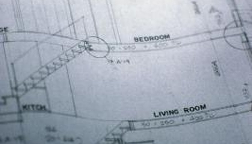 Store blueprints vertically or rolled up.