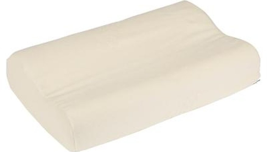 You can remove odors from all foam pillows in the same manner.
