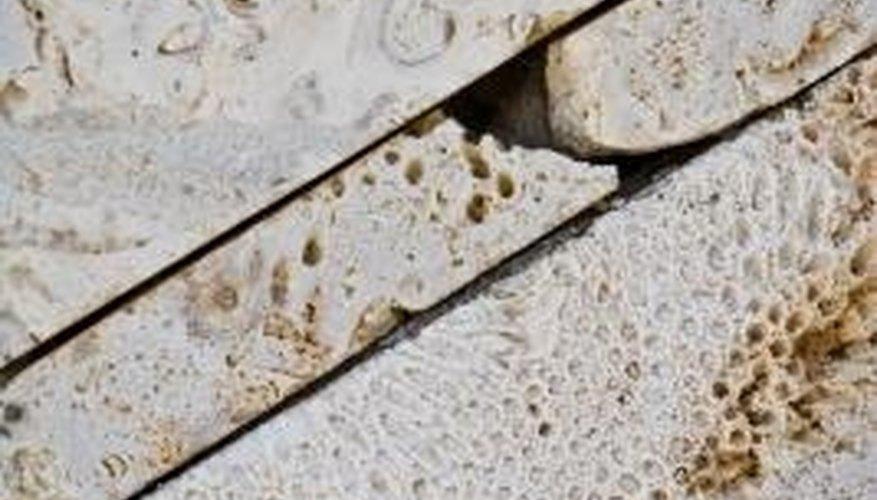 Chalk and limestone are sedimentary rocks.