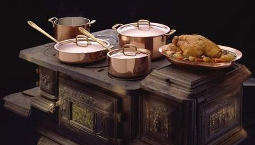 Copper pots and pans are known as