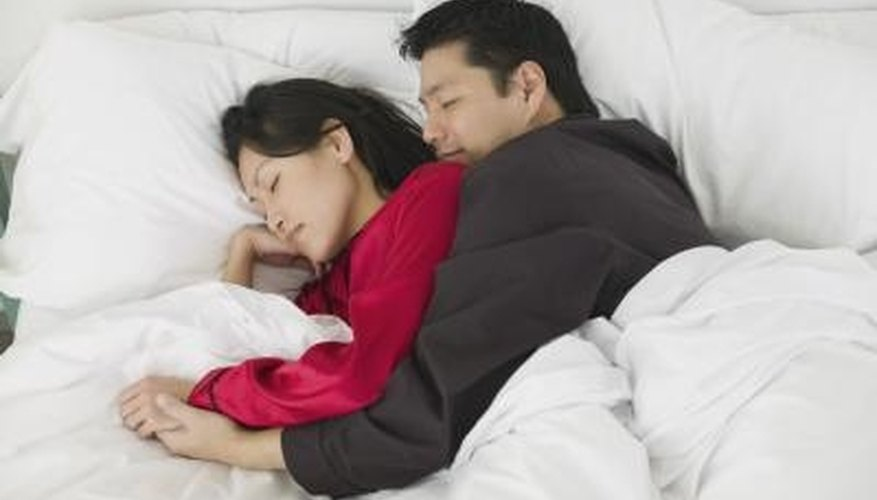 Try the spoon position for a cuddly night's sleep.
