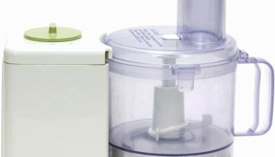 A food processor can make many food preparation tasks faster and easier.