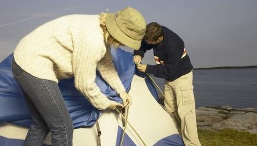 Keep your tent in tiptop shape by wiping clean after each use.
