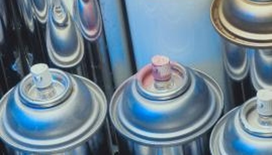 Aerosol cans use pressure to dispense a product.