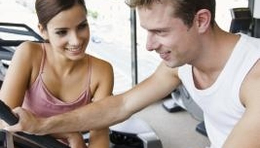 Girls use similar body language to flirt and to demonstrate interest.
