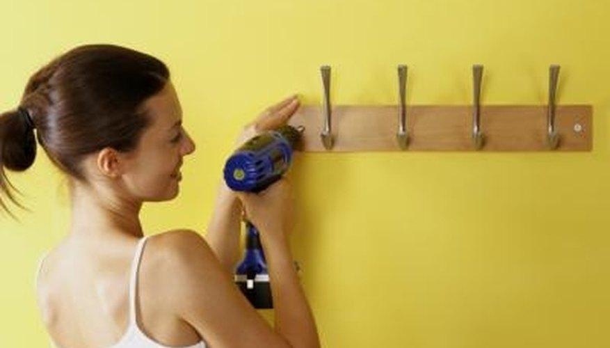 Lightweight power tools make home repairs easier.