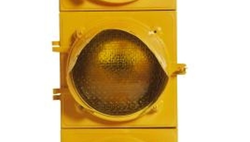 Use a traffic light as a decorative accessory.