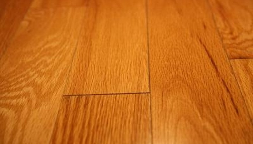 The shiny polyurethane coating on hardwood floors needs to be recoated every 5 to 7 years.