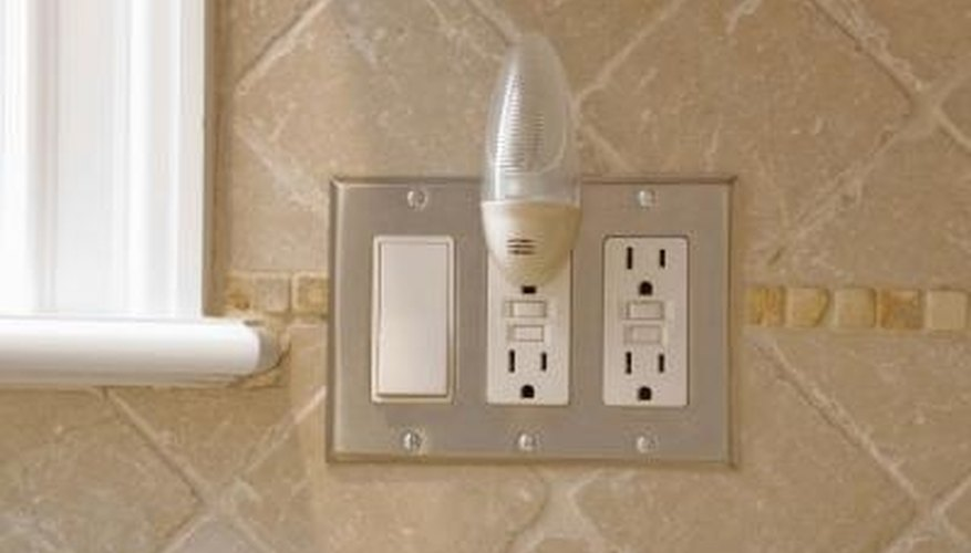 GFI outlets, commonly found in wet areas, contain an electrical breaker to protect from accidental shock.