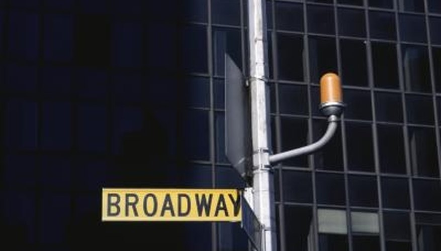 Broadway is famous for its bright lights and musical productions.