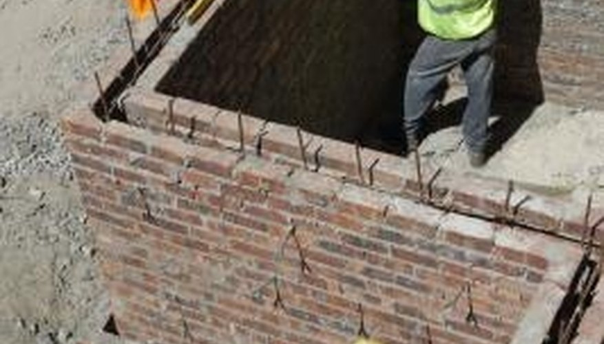 Bricklaying for beginners involves lots of practice to create sound walls and structures.