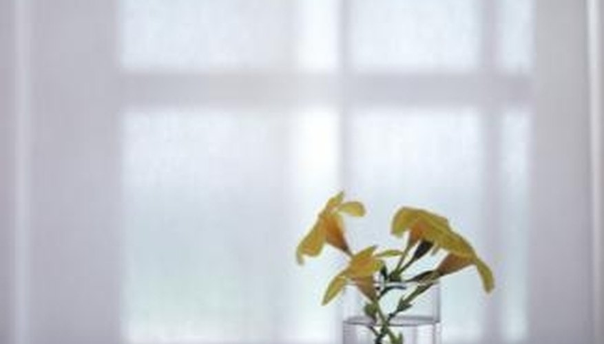 The more panes of glass in the window, the greater its insulating value.