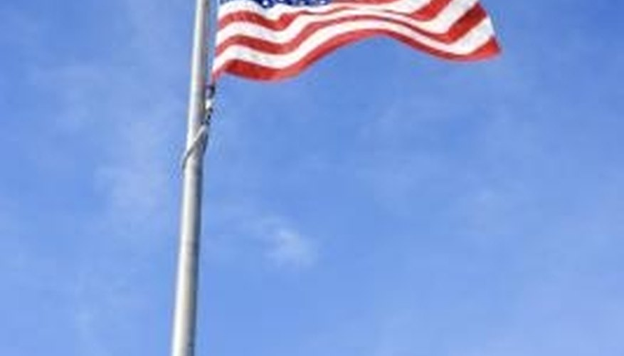 Polyester flags are good for windy areas.