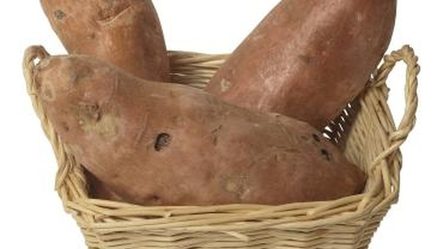The air potato is part of the yam family.
