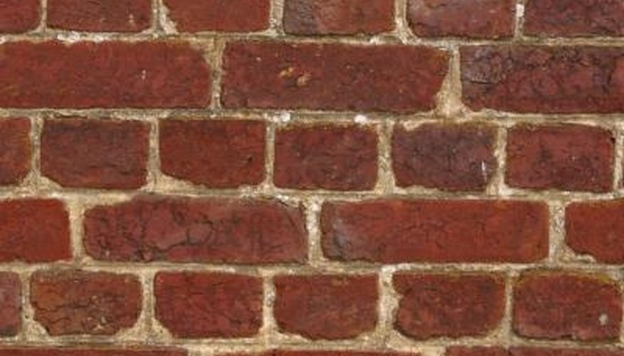 A brick stain kit can darken the exterior of your home.