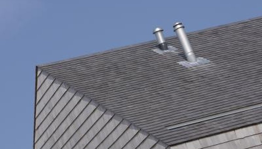 Roof vents must be properly sealed.