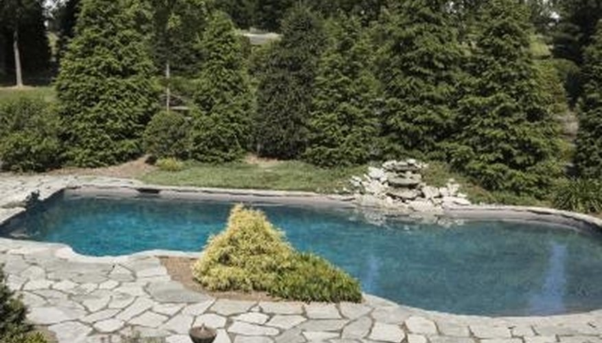 In-ground fiberglass swimming pool shells aren't actually engineered to be used completely out of the ground.