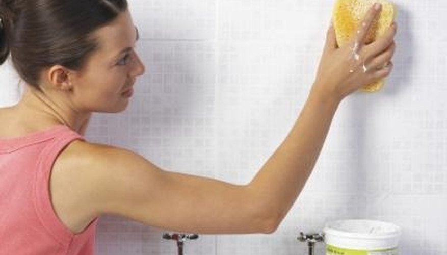 If grout is drying in different colors, it could be a problem with the grout or with the application.