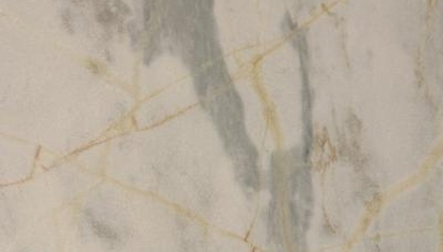 Marble patterns add the illusion of movement and flow to a flat surface.
