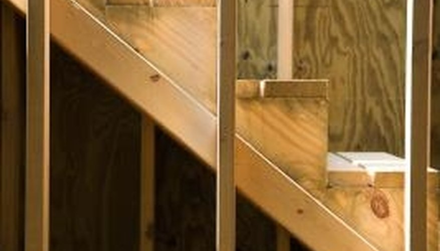 Install steps and risers by following a simple procedure.