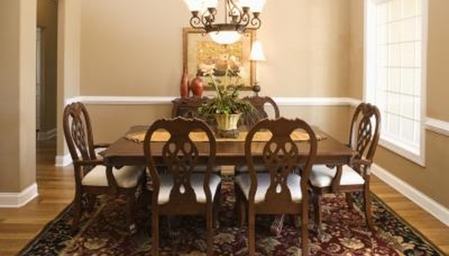 A regular-height table is considered appropriate for formal dining.
