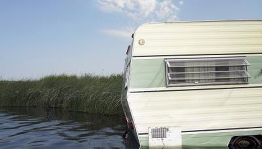 How to Replace a Travel Trailer Outside Corner