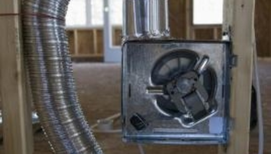 Ductwork can be made from galvanized metal.