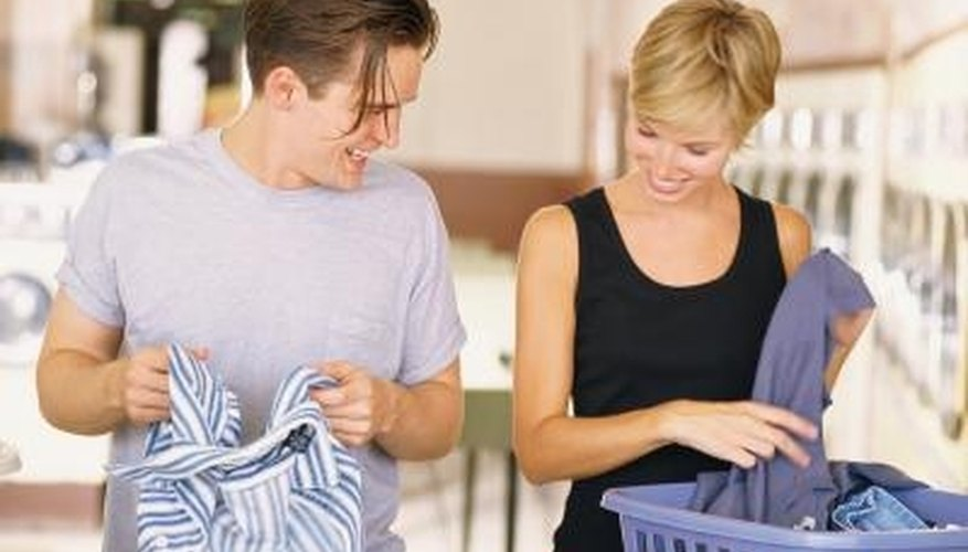 Home remedies can help control static in the laundry.