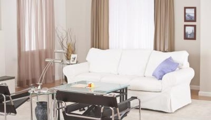 Placing the couch at the correct distance from the couch provides you with space to walk.