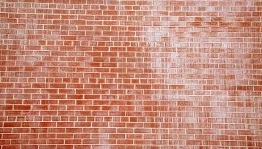 Brick is a porous material that absorbs many materials that can lead to discoloration.