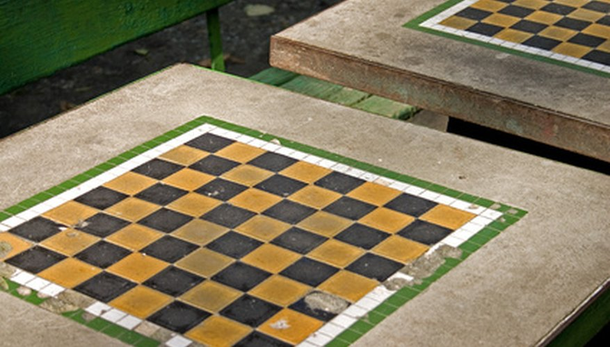 Local parks may have traditional cement chess tables for public games.