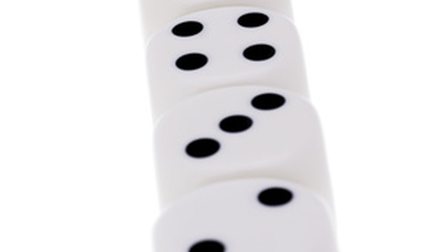 If a player racked this roll, he would have a