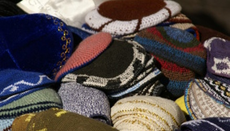 Just as custom yarmulkes can be ordered for a wedding, so too can chuppahs.