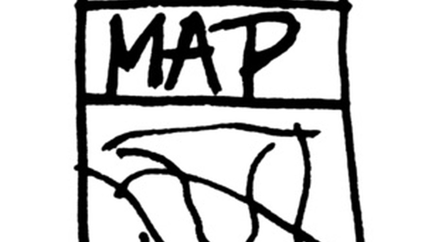 You may draw maps with various degrees of detail and for different purposes.