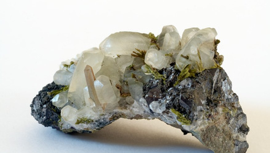 Rare epidote crystals are prized by collectors.