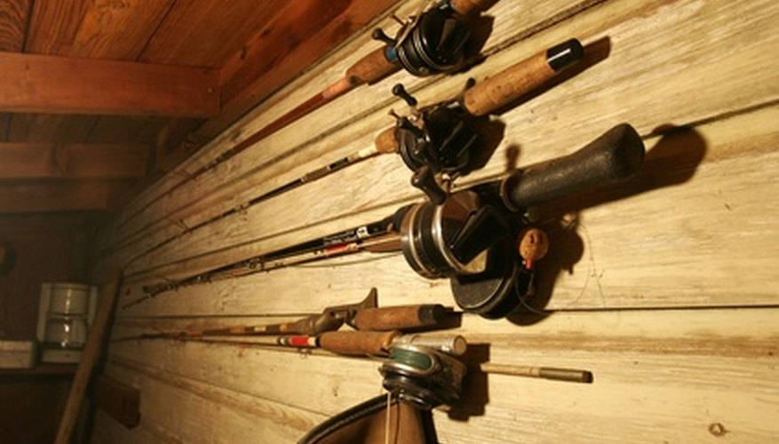 Another way to store these fishing rods is a round rod rack.