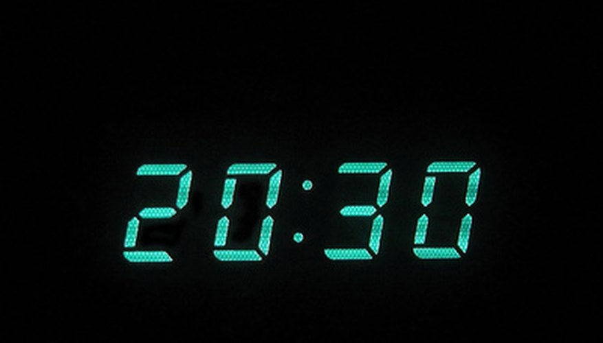 Setting the clock is the first step in making the Time Tracker work correctly.