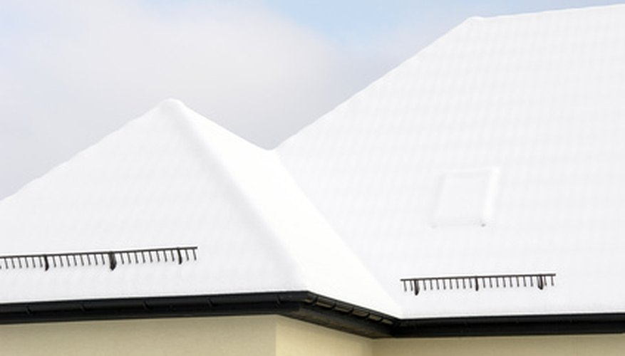 There are many different types of roofs.