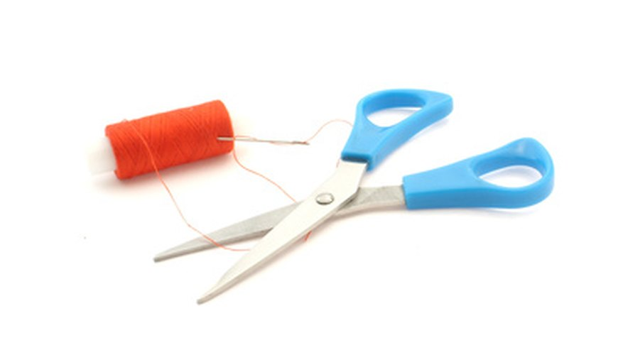 Have a pair of scissors and needle and cotton at hand to make your costumes.