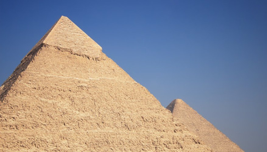 The pyramid has endured from ancient Egypt to the present.