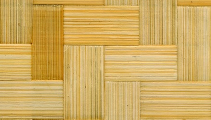 Laminate floors are made to look like durable tile or hardwoods.