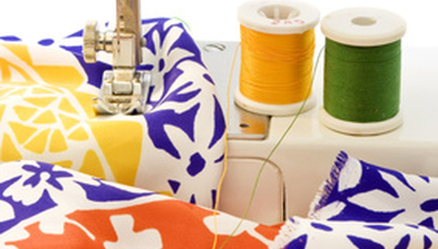 Be certain to use fabric scraps to practice on the machine to avoid locking the thread inside or other problems.