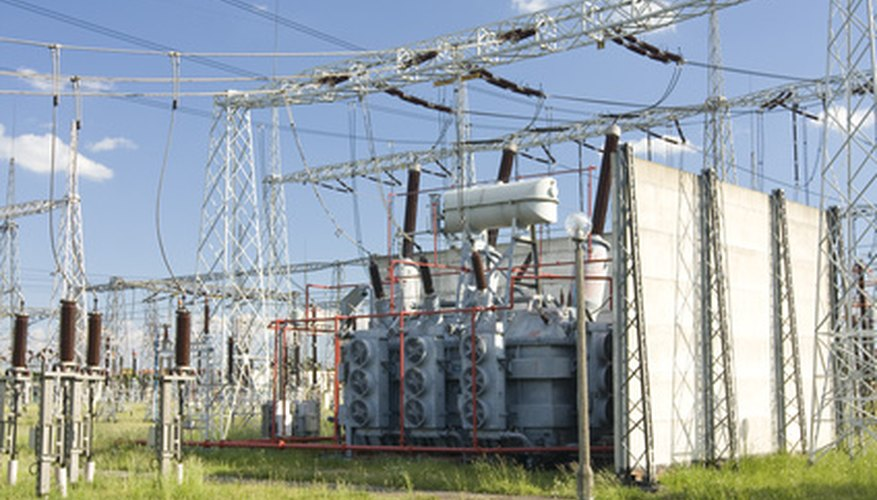 Electric companies use potential transformers to measure line-voltage.