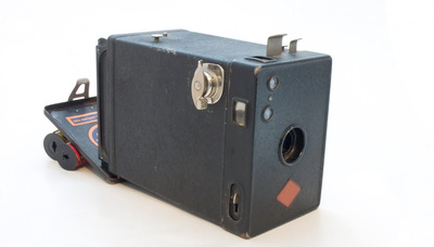 "In 1900, the average family could take pictures with a boxlike camera called the ""Brownie."""